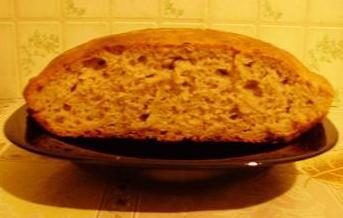 Очень мягкий и пористый получился зерновой хлеб