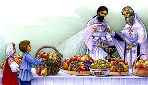 Яблочный Спас - праздник Преображения Господня