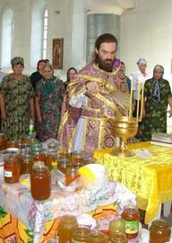 Медовый Спас: освящение меда нового урожая