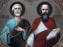 Апостолы Петр и Павел абсолютно разные: один необразованный рыбак, другой образованный аристократ